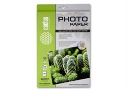 (1001870) Самоклеящаяся бумага фотобумага Cactus CS-GSA413020 глянцевая А4 130 г/м2 20 листов