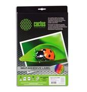 (1001866) Этикетки Cactus white А4 D117мм 50 sheets