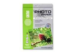 (1001535) Самоклеящаяся бумага фотобумага Cactus CS-MSA310020  матовая А3 100 г/ м2 20 листов