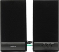 (66600) Sven SPS-607 (2.0), 2х3W, цвет черный
