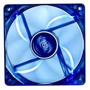 (1004991) Вентилятор корпусной Deepcool WIND BLADE 80 80x80x25 3pin 20dB 1800rpm 60g голубой LED