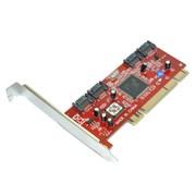 (1005132) Контроллер * PCI SATA 4-port +RAID bulk