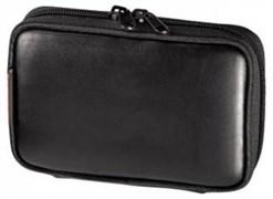 (1005157) Сумка для навигатора Hama Premium S1 black 10.5х2.5х9см кожа (H-86982)