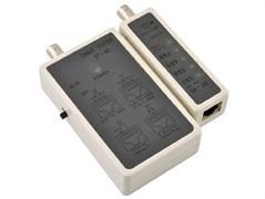 (139079)  Тестер кабеля многофункциональный HL-001 для UTP/STP RJ45, BNC