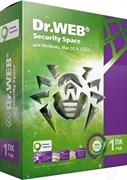 (1006792) ПО DR.Web Security Space 1 ПК/1 год (BHW-B-12M-1-A3)