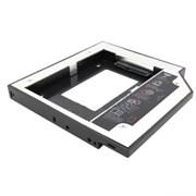 """(102248)  Шасси для 2.5"""" SATA HDD Espada SS12 (для установки в SATA отсек оптического привода ноутбука 12mm)"""