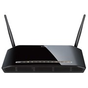 (88032) D-LINK DIR-632 802.11n 8xLAN, 1xWAN, до 300 Мбит/ с, USB2.0