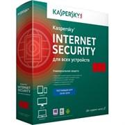 (1001237) Программный продукт: Kaspersky Internet Security Multi-Device Russian Edition. 3-Device 1 year Base Box