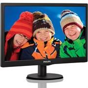 """(112098) Монитор Philips 19.5"""" 203V5LSB26 (10/62) черный TN+film LED 5ms 16:9 матовая 200cd 1600x900 D-Sub"""