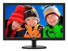 """(1001922) Монитор Philips 21.5"""" 223V5LSB2 (10/62) Glossy-Black TN LED 5ms 16:9 VGA 10M:1 200cd"""
