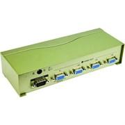 (84982)  VCOM Vpro разветвитель видеосигнала на 4 монитора (VDS8016)