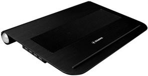 """(3331159) XILENCE  Подставка охлаждающая ноутбука12""""/ черный*/  2х60 мм / 2хUSB/ 26дБа / 0.8кг"""