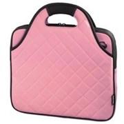"""(3330800) Сумка для ноутбука Grenoble стеганая, 12.1"""" (31 см), 30 х 24 х 3 см, розовый, Hama [OnN]"""