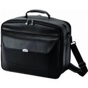 (3331024) Сумка для ноутбука Dicota 15-15.4 MultiStyle, искусственная кожа, черный, (430 x 350 x 190 мм)