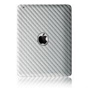 (92807) Защитная пленка, карбоновая для задней панели iPad2 Belsis Bl5402 (белая)