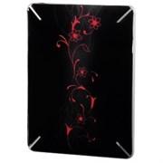 """(3330710) Защитная пленка Growing Flower для корпуса Apple iPad, 9.7"""", самоклеящаяся, черный с орнаментом, Hama [OhN]"""