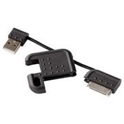 (3330852) Адаптер Hama H-109232 USB-Apple 30 pin для iPhone/iPod в виде брелка черный