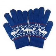 """(1004065) Перчатки для сенсорных экранов Human Friends, Mobile Comfort """"Fiver"""" Blue, Fiver Blue"""