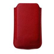 (1003223) Кожаный чехол для iPhone4 & iPod Touch DIGITUS DA-14007 красный