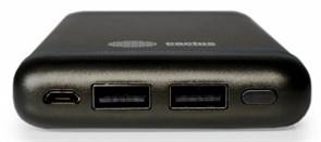 (1006179) Мобильный аккумулятор Cactus CS-PBMS029-10000SG 10000mAh 1A+2.1A графит