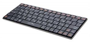 (1006306) Клавиатура Oklick 840S черный беспроводная BT slim