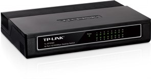 (1005952) Коммутатор TP-LINK TL-SF1016D 16-port 10/100M Desktop Switch, 16 10/100M RJ45 ports, Plastic case