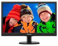 """(1003571) Монитор Philips 18.5"""" 193V5LSB2 (10/62) Glossy-Black TN LED 5ms 16:9 10M:1 200cd"""