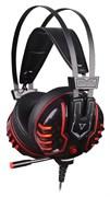 (1010751) Наушники с микрофоном A4 Bloody M615 черный 2.2м мониторы (M615 B/R)