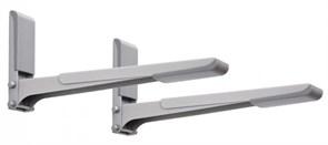(1010846) Кронштейн для СВЧ Holder MWS-2003 металлик макс.40кг настенный фиксированный