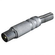 (1011047) OXION антенный штекер с защитой металлический