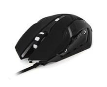 """(1011577) Мышь игровая CBR CM 853 Armor, USB, 1200/1600/2400 dpi, """"дышащая"""" подсветка: 4 цвета, софттач пластик, черный цвет корпуса, CM 853 Armor"""