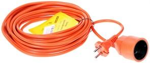 """(1011558) Удлинитель в бухте """"PowerCube"""" 10А/2,2 кВт, 1 розетка, 10м, оранжевый"""