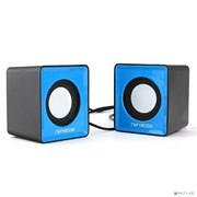 (1011493) Акустическая система 2.0 Гарнизон GSP-100, синий/черный, 2 Вт, материал- пластик, USB - питание