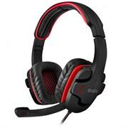 (212999)  Гарнитура SVEN AP-G855MV, игровая, цвет черный/красный
