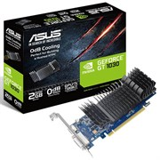 (1011846) Видеокарта Asus PCI-E GT1030-2G-BRK NV GT1030 2048Mb 64b GDDR5 1228/6008 DVIx1/HDMIx1/HDCP Ret low p