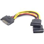(1011738) Удлинитель кабеля питания SATA Cablexpert CC-SATAMF-02, 15pin(M)/15pin(F), 50см
