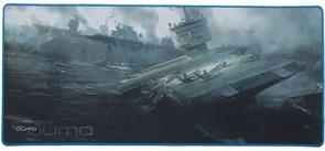 (1011636) Коврик Qumo Dead Navy для мыши  800*350*4