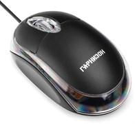 (1011534) Мышь Гарнизон GM-100, USB, чип- Х, черный, 1000 DPI, 2кн.+колесо-кнопка