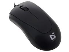 (111575) Мышь Defender Optimum MB-150, PS/2, 800dpi, Black (52150)