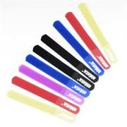 (1011548) Стяжка для кабеля Aidata СМ03 (10шт 180х21мм,на липучке) цветная