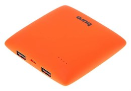 (1011211) Мобильный аккумулятор Buro RA-7500PL-OR Pillow Li-Ion 7500mAh 2.1A оранжевый 2xUSB