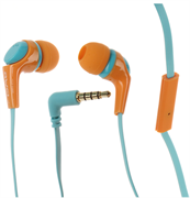 (1012402) Гарнитура Awei Q6i (orange) с микрофоном