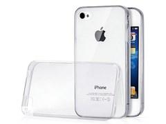(1012793) Накладка TPU для iPhone 4/4S прозрачная