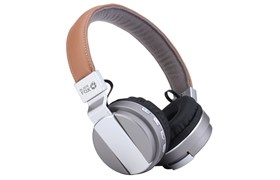 (1011922) Гарнитура Bluetooth  BLACK FOX  BAH008A (Цвет-серебристо-бежевый)