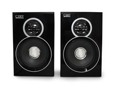 (1011580) Акустическая система 2.0 Bluetooth CBR CMS 660, черный цвет, 3.0 W*2, USB. материал: МДФ., CMS 660
