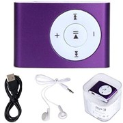 (1012426) MP3-плеер с поддержкой карт microSD (purple) вариант 2