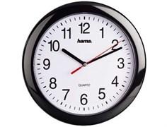 (1012996) Часы настенные аналоговые Hama PP-250 H-113920 черный