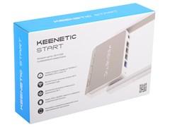 (1012073) Интернет-центр Keenetic Start (KN-1110) с Wi-Fi N300 и управляемым коммутатором
