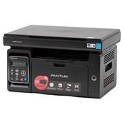 (1011833) Pantum M6500W (МФУ, лазерное, монохромное, копир/принтер/сканер (цвет 24 бит), 22 стр/мин, 1200 x 1200 dpi, 128Мб RAM, лоток 150 стр, USB/WiFi, черный корпус)