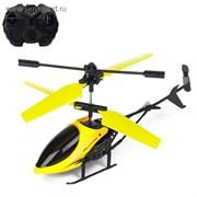 Вертолёт радиоуправляемый «Крутой вираж», световые эффекты, цвета МИКС